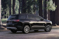 GMC Acadia All Terrain (2017) Rear Side