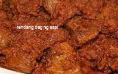 resep masakan indonesia rendang daging sapi spesial enak, gurih, lezat, praktis, mudah