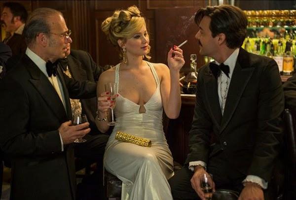 "Jennifer Lawrence en ""La Gran Estafa Americana"""