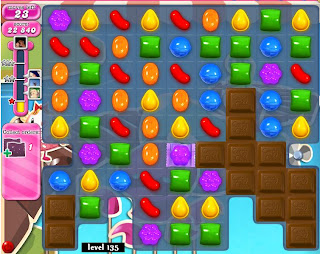 Candy Crush Saga Level 135: Hints and Tips