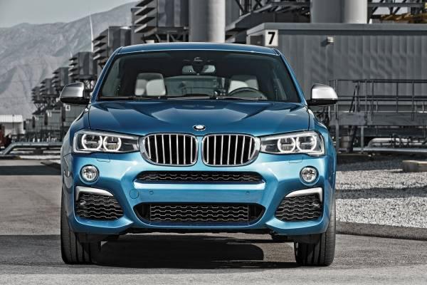 BMW「X4 M40i」ののフロント画像
