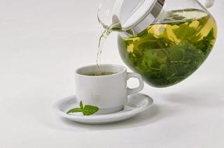 teh hijau - green tea