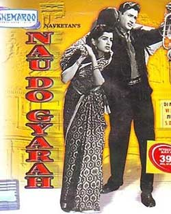 Nau Do Gyarah 1957 Hindi Movie DVDRip 720p ESubs
