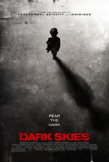 Dark Skies movie poster aliens abduction