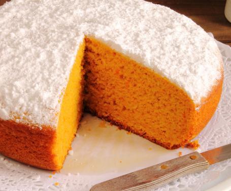 Torta sofficissima all 39 arancia con il bimby tm5 ricette for Ricette bimby torte