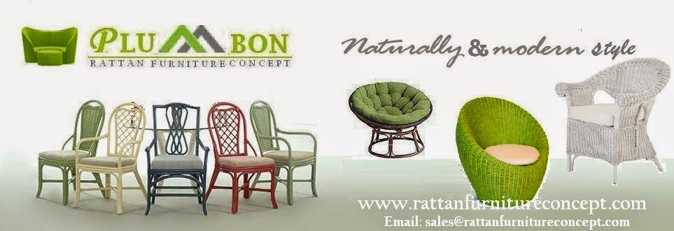 RATTAN FURNITURE AND WICKER CHAIRS FROM INDONESIA