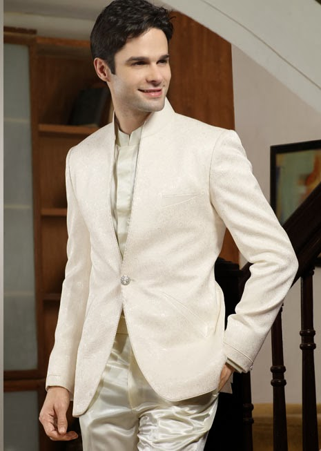 New Stylish Dress Wedding Party Pent Coat Mens Fashion 2015