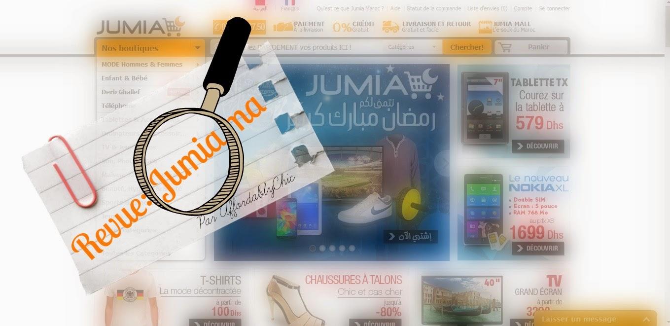 achat en ligne au maroc revue jumiama