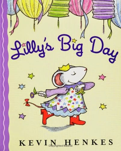 Lilly's Big Day - cute idea for sharing news of a teacher's engagement with young students