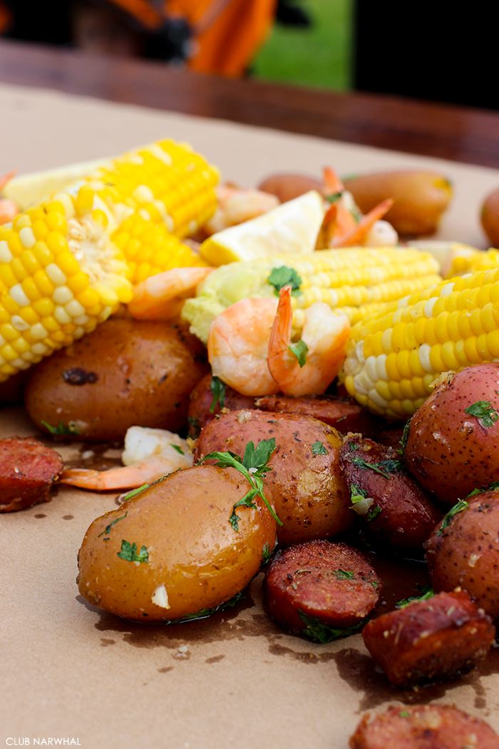 Low Country Boil | A great way to feed a crowd!