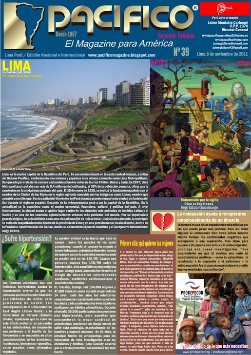 Revista Pacífico Nº 39 Turismo