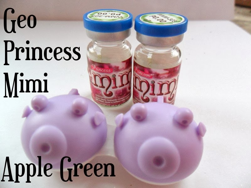 Geo Princess Mimi Green Lenses
