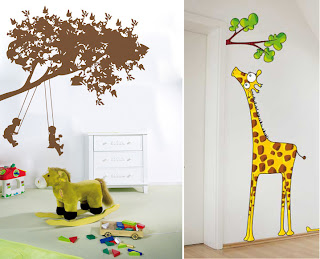 Kids Fun Wall Decor Ideas