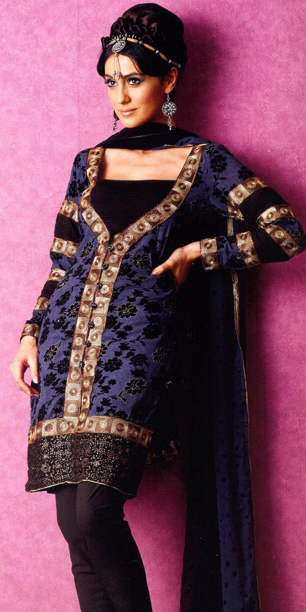 Salwar Kameez Neck Designs