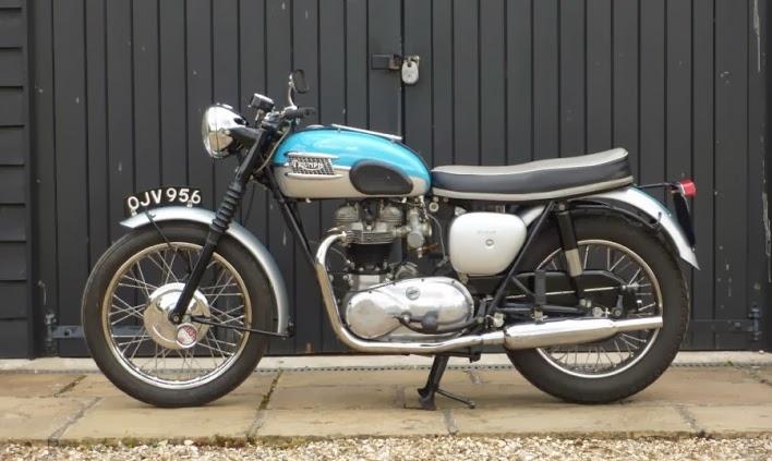 Musings Of A Motorcycle Aficionado 1960 Triumph Bonneville