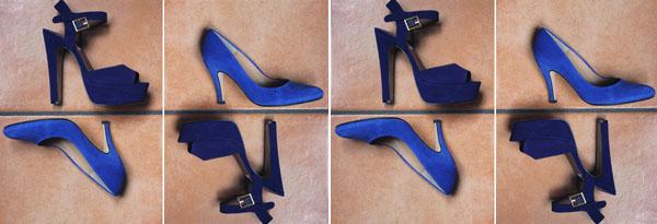 modemoiselle, fashion blogger, shopping, shoes, sandals, pumps, scarpe, deep blue, blu elettrico, steve madden, valensi, sarenza, sandali, décolletées
