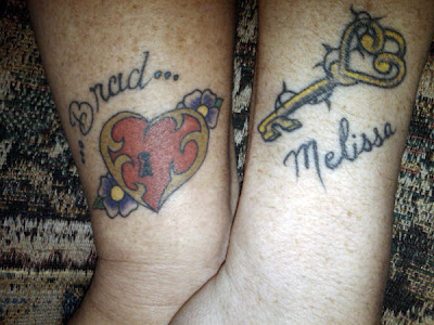 matching tattoos for couples in love