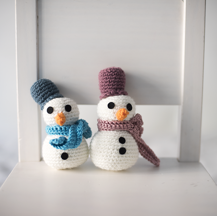 El Gallo Bermejo: Muñeco de nieve (patrón gratis)