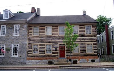 historic log house