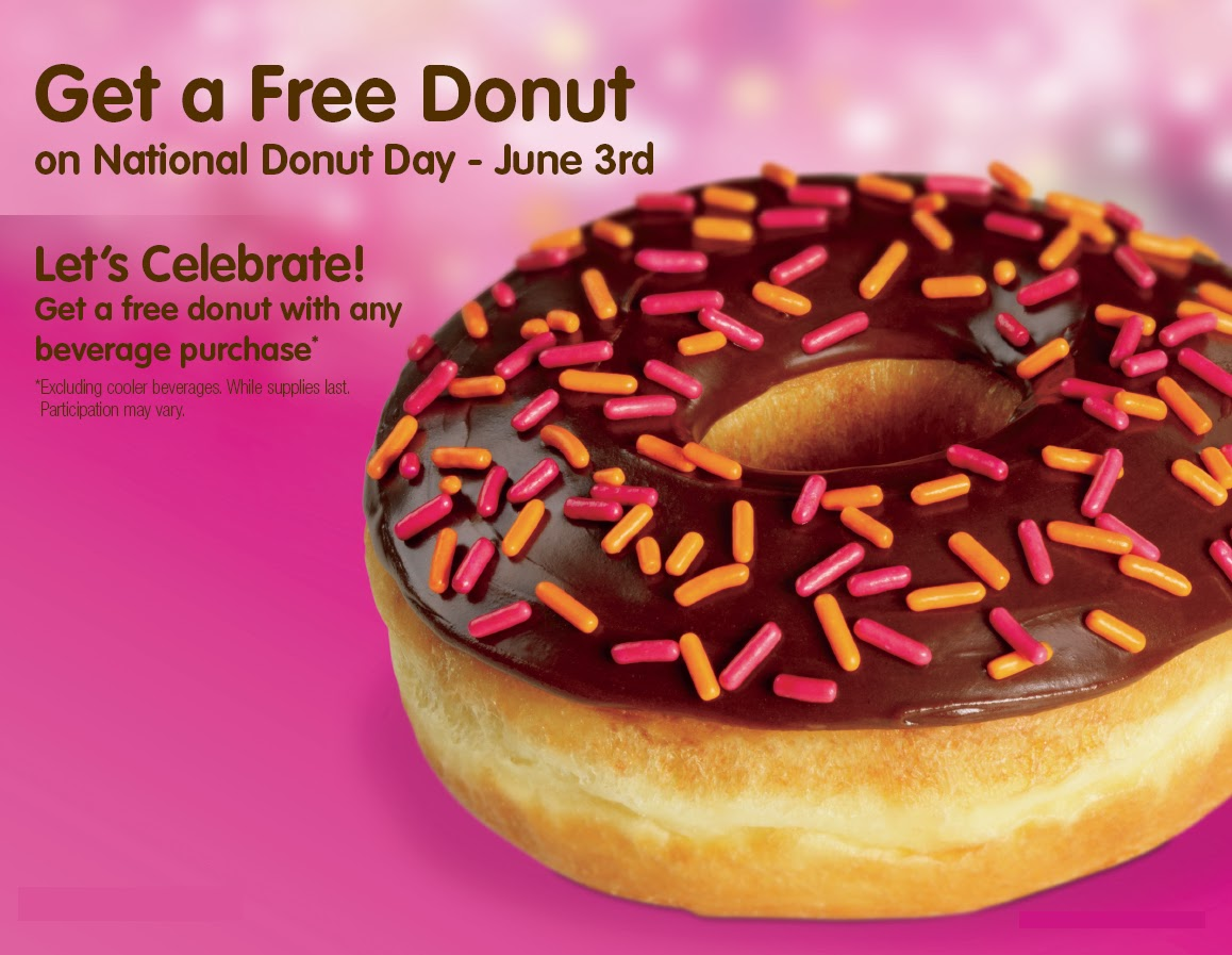 A Boston Food Diary: Celebrate National Donut Day at Dunkin' Donuts!