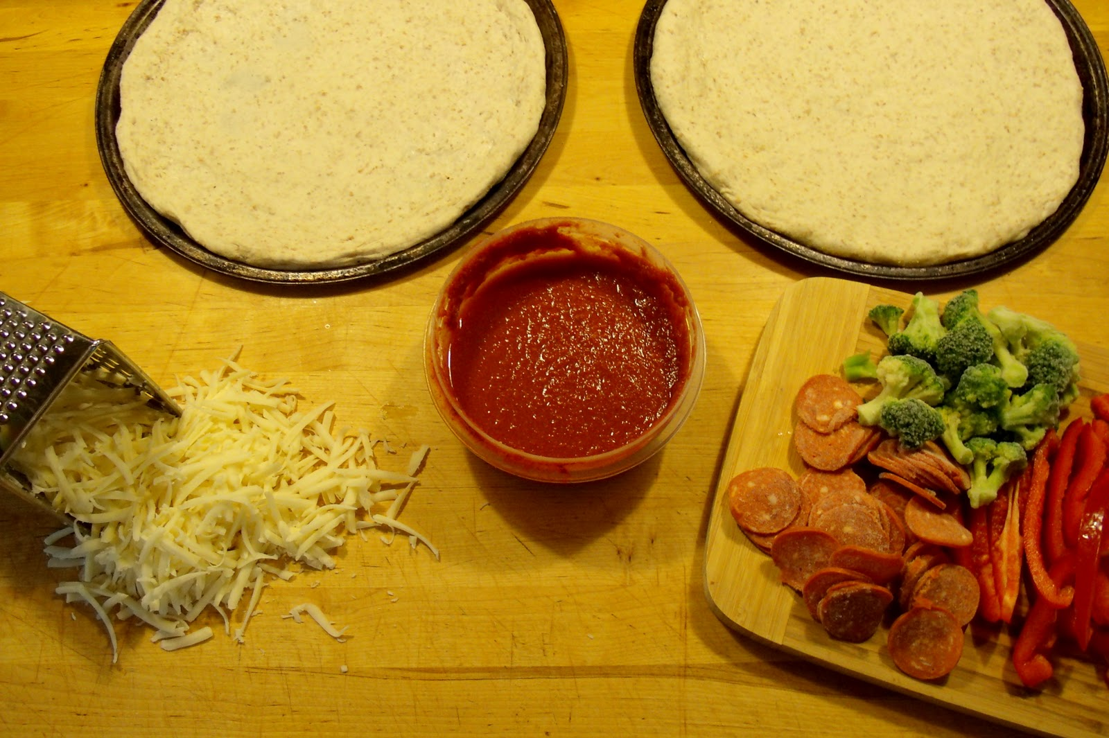 how to make pizza dough rise faster