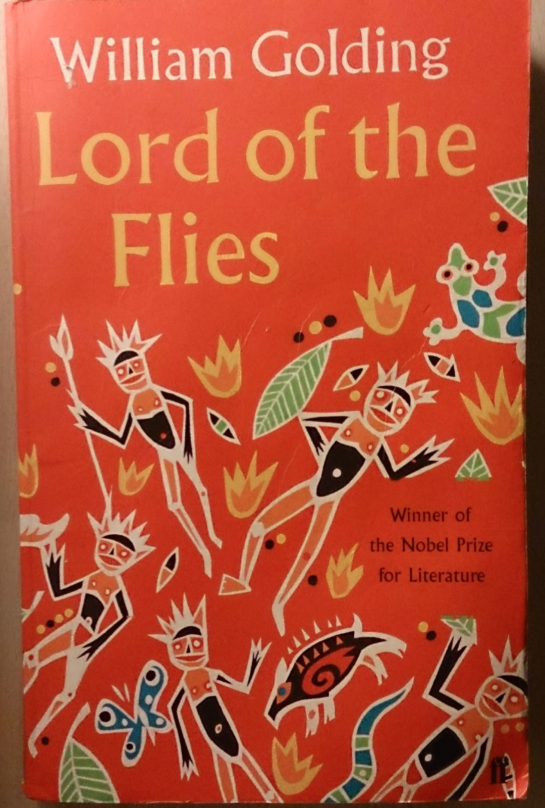 a literary analysis of the savages in lord of the flies by william golding