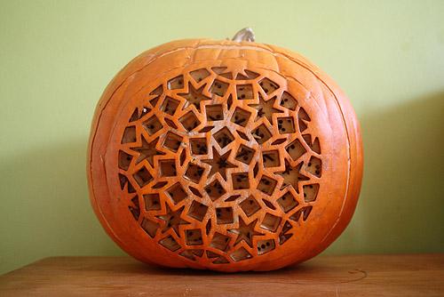 elegant carved pumpkins pics