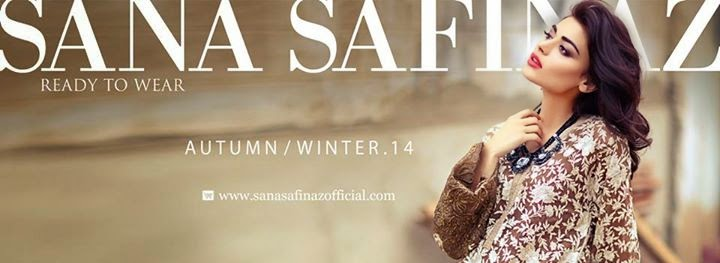 Sana Safinaz Autumn/Winter'14/15 Collection