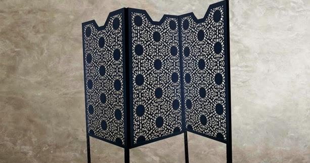laser cut panels  modular freestanding laser cut screens in nottingham lace design
