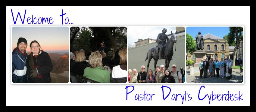 Pastor Daryl's Cyberdesk