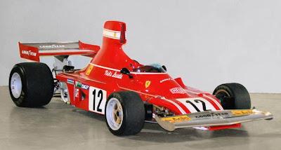 Niki Lauda Ferrari 312b3