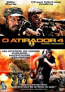 O Atirador 4 - DVDRip Dual Áudio
