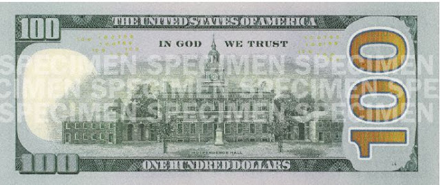 So, of course, I was more than excited when the new $100 bill was