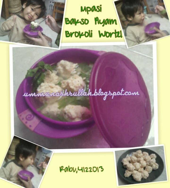 Nugget Ayam Brokoli Keju Dessy Mardiana: Ummu Nashrullah: Bakso Ayam Sehat