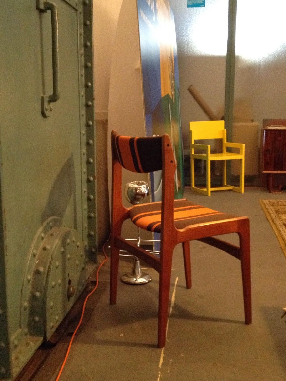 design nórdico, vintage, cadeira