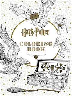 harry potter the coloring book review