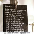 Små tavler med store ord...