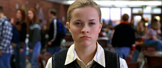 Reese Witherspoon's face after seeing the opening weekend grosses for This Means War