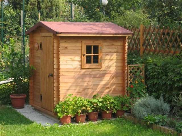 Box casetta in di legno porta singola casette da giardino
