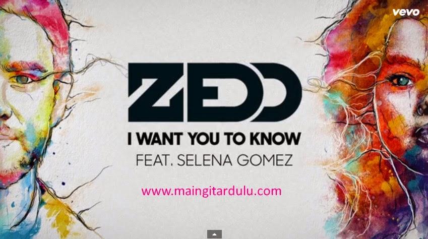 I Want You To Know - Zedd feat Selena Gomez