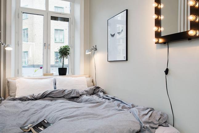 deco-pequeno-piso-habitación-mas-es-menos-madera-blanco