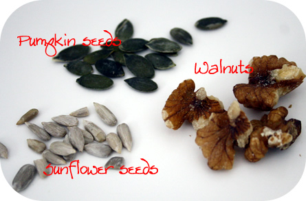 DIY Muesli - seeds and nuts