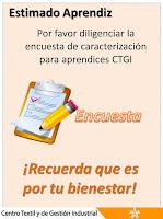 Encuesta Caracterización Aprendices CTGI - LINK