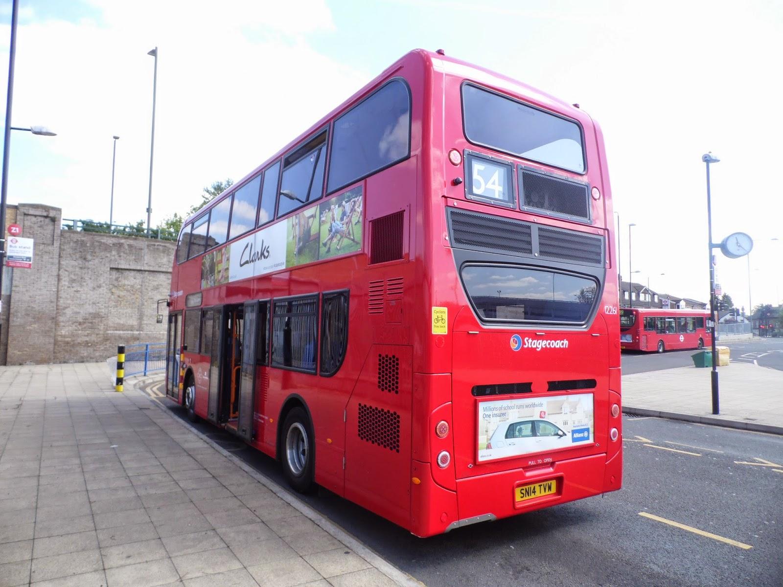 Tom London Amp Surrey Bus Blog Route 54 Observations