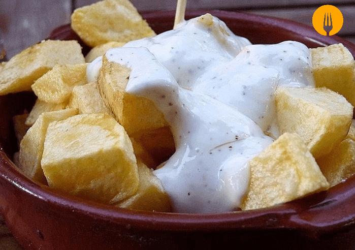receta patatas salsa alioli casera