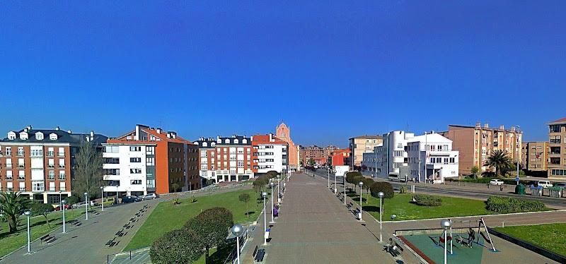 Parque Maria Cristina en Santander