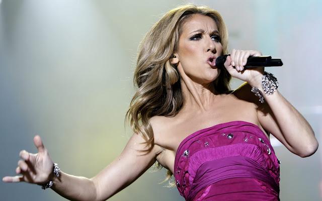 Celine Dion emociona a todos cantando Hello da Adele na virada do ano novo