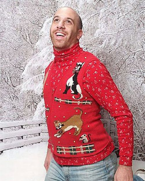Ugly Christmas Party Sweaters: The Plural Of Hyena: Christmas Couture: A Collection Of
