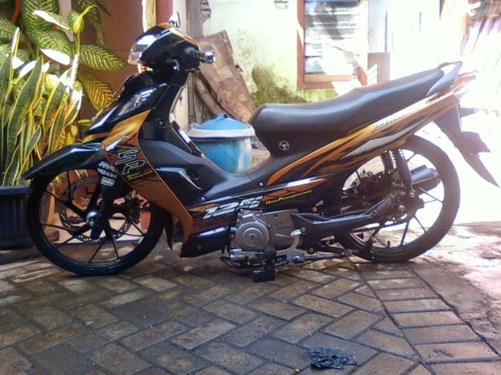 modifikasi suzuki shogun sp ceper