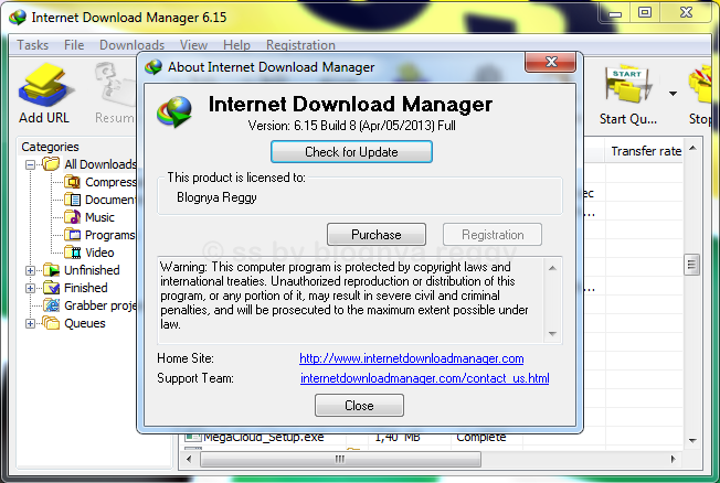 Download Internet Download Manager 6.15 Build 8 full patch